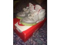 Nike Yeezy 2 Platinum Size 8.5 UK