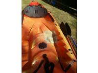 Rtm ocean double kayak sit on with paddles