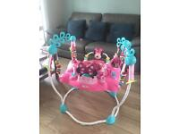 Minnie Mouse jumperoo style baby bouncer