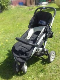 Silvercross pushchair
