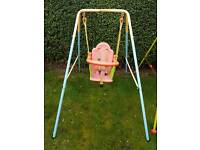 Toddler baby garden swing