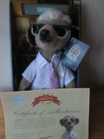 Sergei Meerkat from compare the market