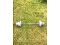 DP Fit 4 Life Weights & weight bar, & skips £15.00