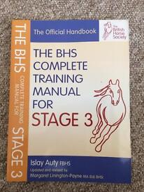 BHS stage books 1-3