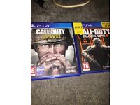 Call of duty ww2 and black ops 3 £30