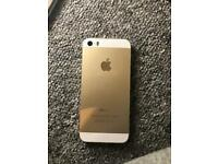 iPhone 5s gold 12gb Vodafone network