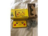 Nintendo 2DS XL - Limited Edition Pikachu Console, perfect condition, box and charger