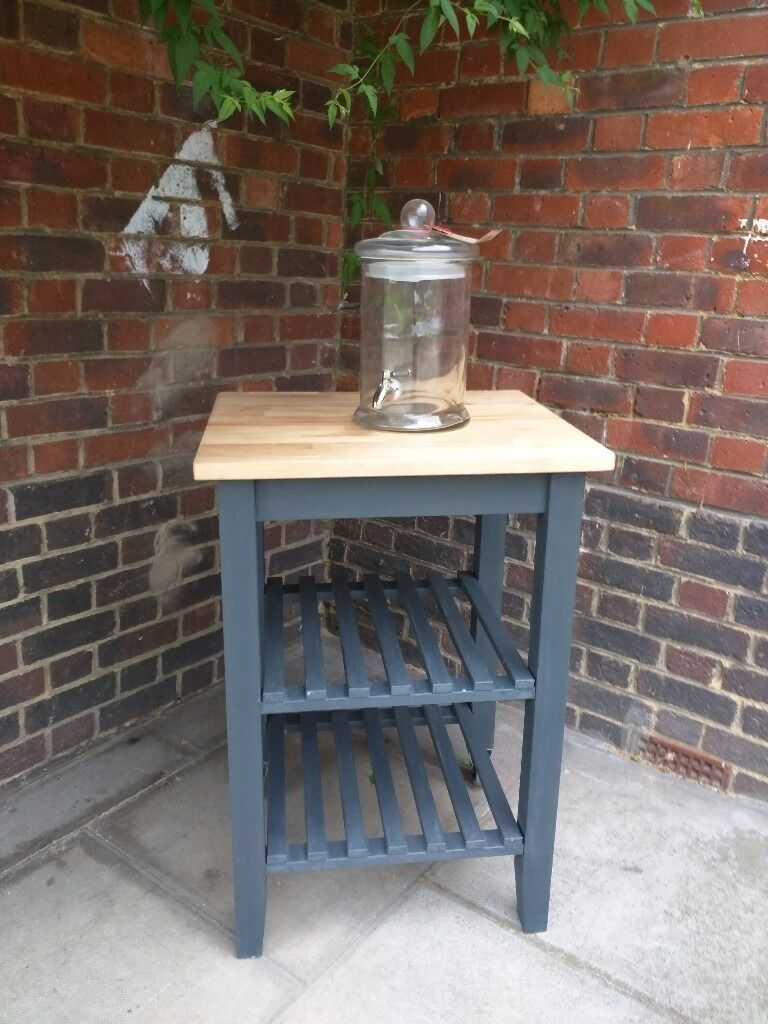 Kitchen Trolley Butcher Block : Kitchen trolley/butcher's block/rustic island storage. in Hammersmith, London Gumtree