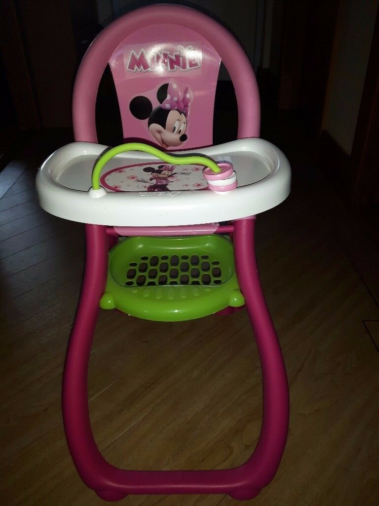 Minnie Mouse Dolls High Chair