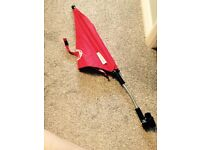 Red Bugaboo Parasol