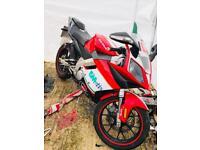 GILERA SC125 RACE BIKE