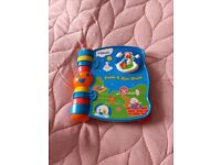 Peppa pig toy and vetch lullaby book