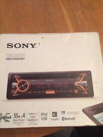 Sony audio system mex-n5100bt