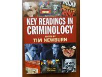 Key Readings in Criminology. Tim Newnurn