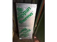 Kingspan insulation board 1200/450/50mm also 2400/1200/30mm also 1200/450/80mm