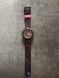 Flik Flak swatch watch Hello Kitty