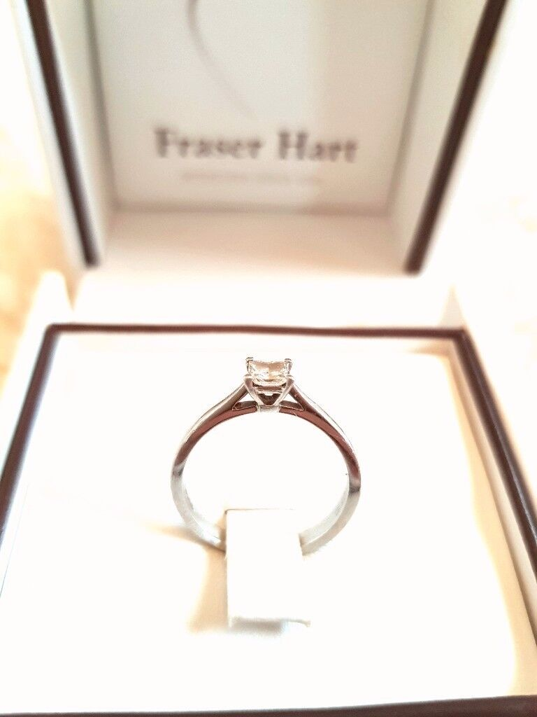 Fraiser heart engagement ring