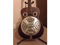 Ozark 3515DD Wooden Resonator Guitar, Distressed NEARLY NEW