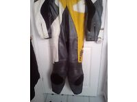 Frank Thomas all in one leathers good condition size 46 BARGAIN