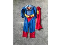 Superman costume outfit boys 5-6