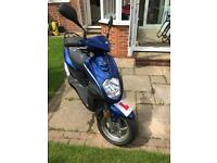 50cc SymSimply Moped 2016, 66 plate 6 months old excellent running condition