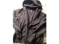 Nike brown hoody large