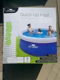 Crane Quick Up Pool (Swimming Pool)