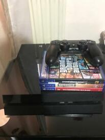PS4 With Controller & 3 games