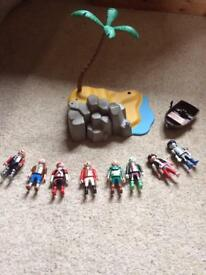 Pre used playmobile toys