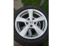 Honda alloys wheels for sale 205/55 R16