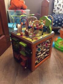 Zaney zoo- activity toy- baby toddler