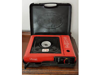 Camping gas stove single burner - USED ONCE