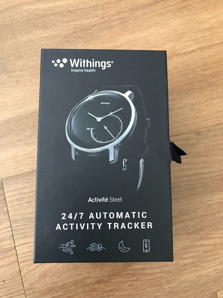Brand New - Withings Activité Steel - Activity and Sleep Tracking Watch - £50 (RRP £119.95)