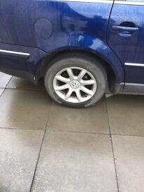 wanted 205/60/15 alloy for 2005 volkswagen passat