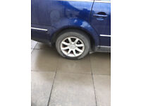 wanted 205/60/15 alloy for 2005 volkswagen passat