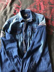Superdry men's shirt size medium