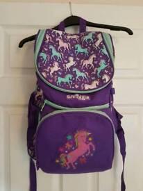 Smiggle school bag/rucksack/backpack scented