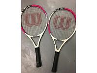 Wilson Blade size 23. Kids tennis rackets