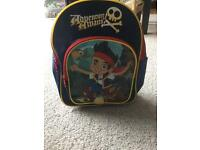 Kids Jake and the Neverland Pirates Bag Disney Backpack