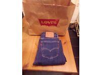 Men's Levi's 519 skinny jeans 30W 32L