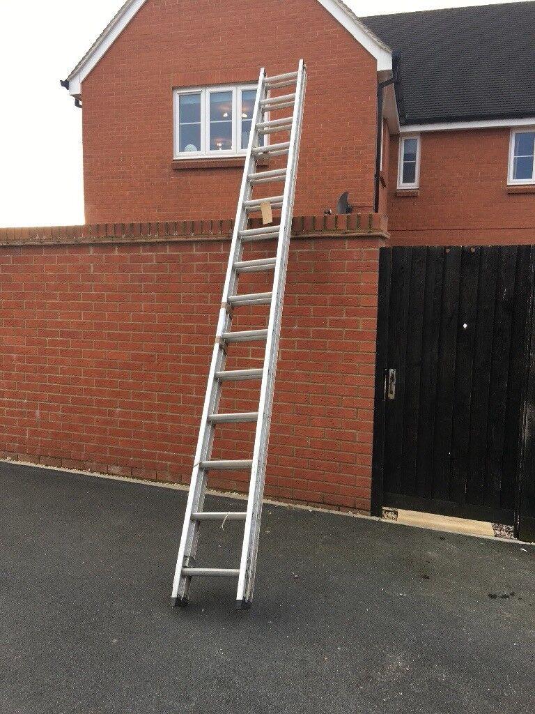 Extending Alluminium Ladder