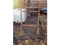 2x builders tressles scaffold
