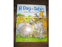 A Day On Safari Pop Up Hardback Book by Cathy Drinkwater Better