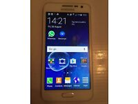 Samsung Galaxy a3 White great condition