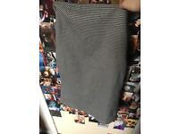 Black and White Miss Selfridge Pencil Skirt - Size 10
