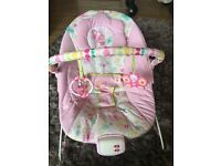 Bright stars pink bouncer