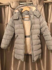 Girls next puffa coat age 10