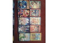26 x Walt Disney DVD's for sale.