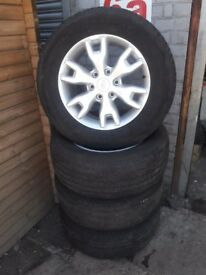 Ford Ranger alloys