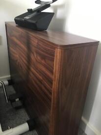 Wall desk Walnut solid wood